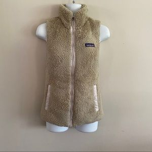 Patagonia fleece vest (has wear)